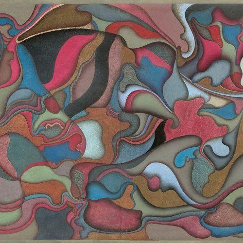 Mihaïl CHEMIAKIN (né en 1943) Sans titre, 1973 Gouache sur papier, signée et dat…