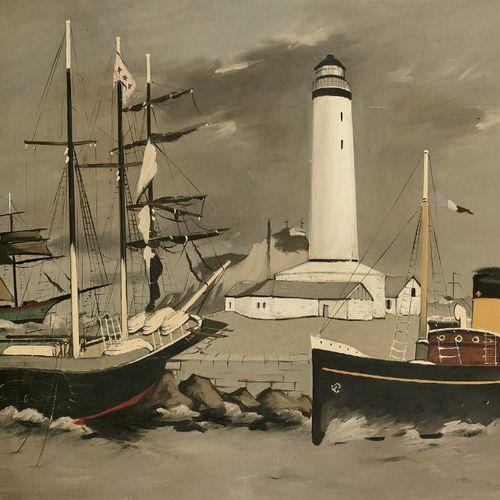Robert HUMBLOT (1907 1962) Sans titre, 1943 Huile sur toile, signée et datée en …
