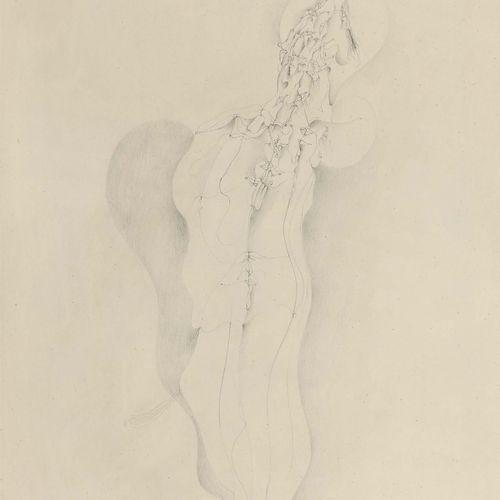 WOLFGANG GAFGEN (NÉ EN 1936) Le baiser Crayon sur papier, signé et titré en bas …