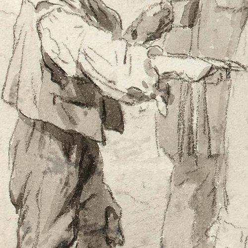 Louis Léopold BOILLY (La Bassée 1761 Paris 1845) Il y a plus malheureux que moi …