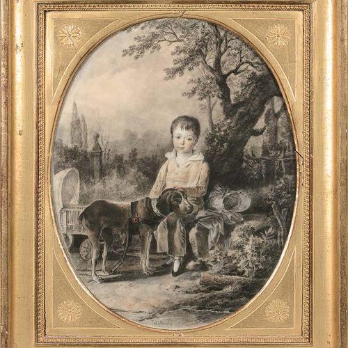 Attribué à Jean Antoine CONSTANTIN (Marseille 1756 Aix en Provence 1844) Portrai…