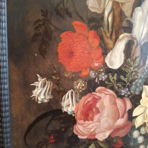 Ambrosius BOOSCHAERT le jeune (Arnemuiden 1609 Utrecht 1645) Bouquet de tulipes,…