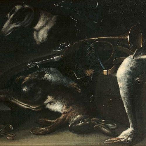 Entourage de Jacobus BILTIUS (La Haye 1633 Berg op Zoom 1681) Nature morte aux a…