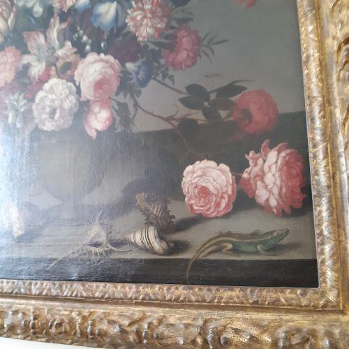 Balthasar van der AST (Middelbourg 1593/94 Delft 1657) Iris, tulipes, oeillets, …