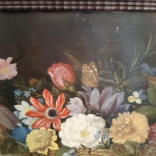 Ambrosius BOSSCHAERT l'ancien (Anvers 1573 La Haye 1621) Corbeille de fleurs Hui…
