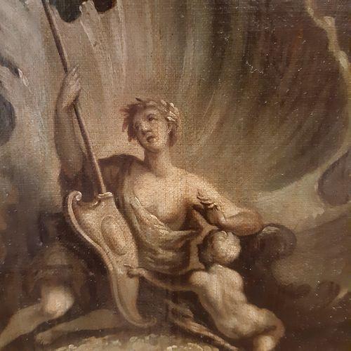 ÉCOLE FRANÇAISE dans le goût de Jacques de LA JOUE (1687 1761) Jeune lecteur dan…