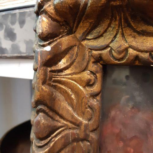 MIA ELEN Bouquet de roses au vase de Delft Huile sur carton, signée en bas à dro…