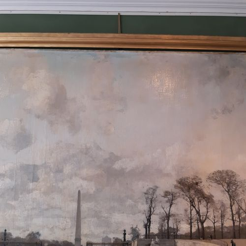Luigi LOIR (1845 1916) Paris, port de mer, 1885 Huile sur toile, signée et datée…