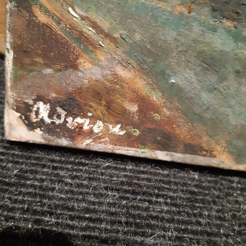Lucien ADRION (1889 1953) Bord de rivière Huile sur toile, signée en bas à gauch…