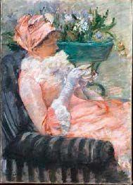 Mary CASSATT (1844 1926) Étude pour La tasse de thé ou L'heure du thé, vers 1879…