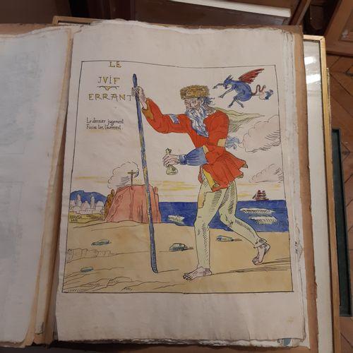 Emile BERNARD (1868 1941) Les Ymages, suite des 18 planches, 1894 1897, zincogra…