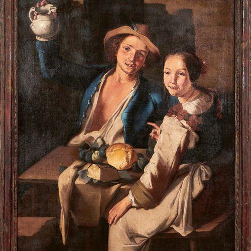 Giuseppe Francesco CIPPER dit Il TODESCHINI (Feldkirch 1664 Milan 1736) Couple d…