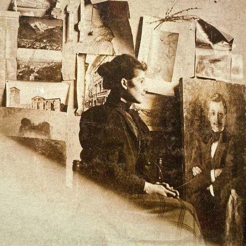 Olga BOZNANSKA (1865 1940) Portrait présumé de Louis Libaude, 1904 (?) Huile sur…