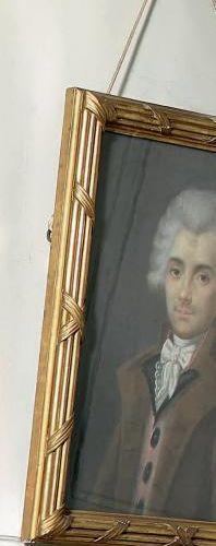ÉCOLE FRANÇAISE de la fin du XVIIIe ou du début du XIXe siècle Portrait d'homme …
