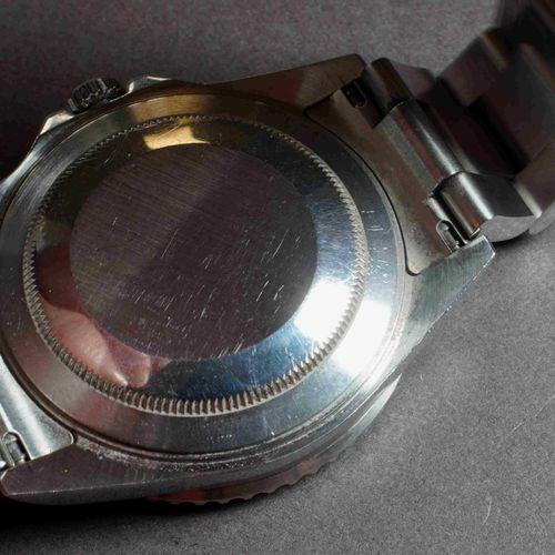 ROLEX GMT MASTER II. Réf. 16710. Boîtier acier 40 mm des années 2000. Lunette ac…