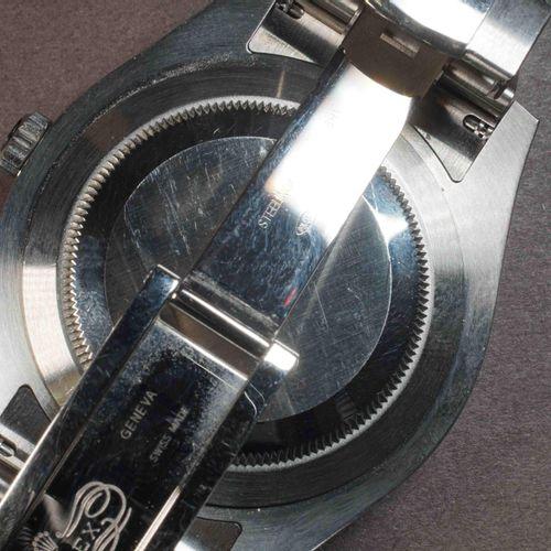 ROLEX. OYSTER PERPETUAL DATE JUST II. Réf. 116334. Boîtier acier, lunette cannel…