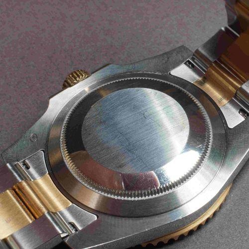ROLEX SUBMARINER. REF 116613 LN. Année 2018. Boîtier 40 mm acier et or,N° de sér…