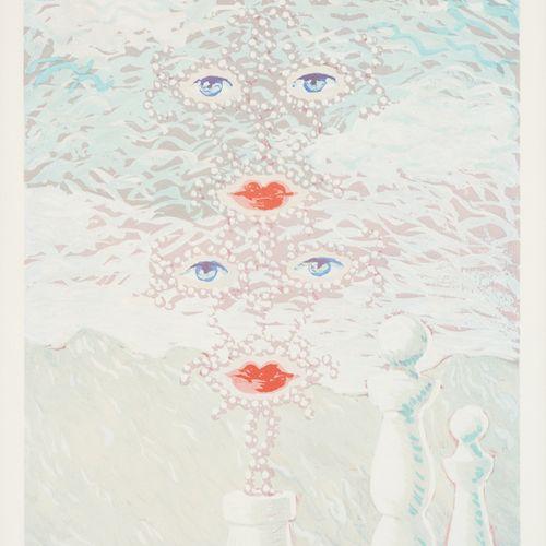 Georgette MAGRITTE École belge (1901 1986) Estampe, lithographie en couleurs sur…