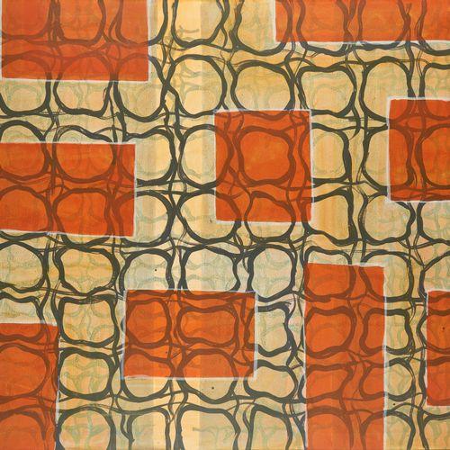 Jean DE GRYSE (École belge 20 21e) Acrylique sur toile: Composition.  Signée au …