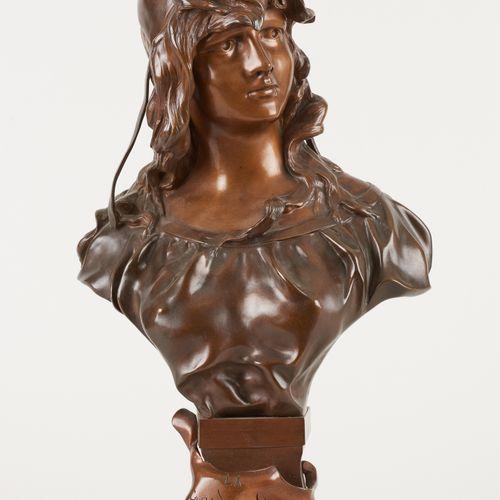 """Antoine Joseph VAN DEN KERCKHOVE """"NELSON"""" École belge (1849 c.1910) Sculpture en…"""