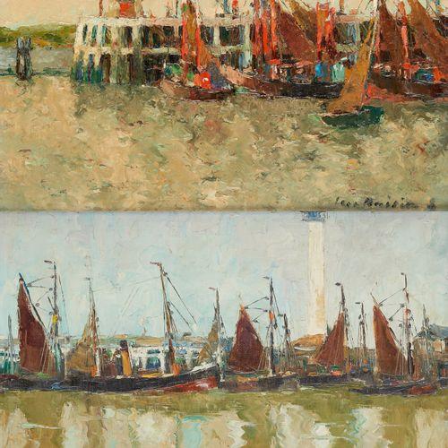 Luc KAISIN École belge (1901 1963) Huile sur toile et une huile sur panneau (lot…