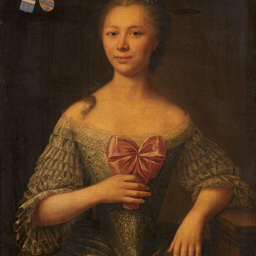 École française 19e. Huile sur toile: Portrait de Marie Joséphine Caroline de We…