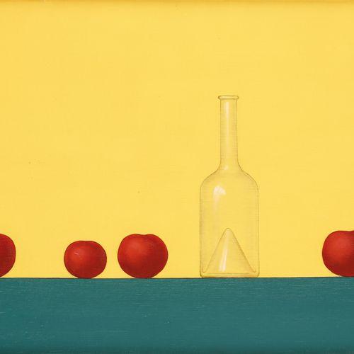 """Pierre DEVOS École belge (1917 1972) Huile sur toile: """"Les tomates"""".  Signée et …"""