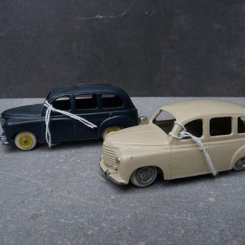 CIJ : Compagnie Industrielle du jouet CIJ : Lot de 2 Renault Colorale Prairie ve…