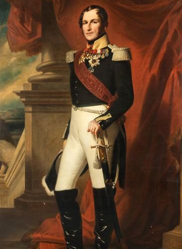 Fanny GEEFS (Brussels, 1807 Schaerbeek, 1883) Portrait of Leopold I, King of the…