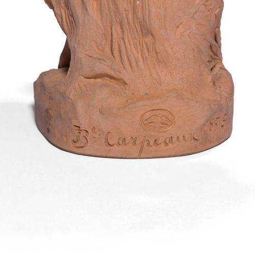 Jean Baptiste Carpeaux (1827 1875) Ève après la faute Terracotta proof. Signed a…