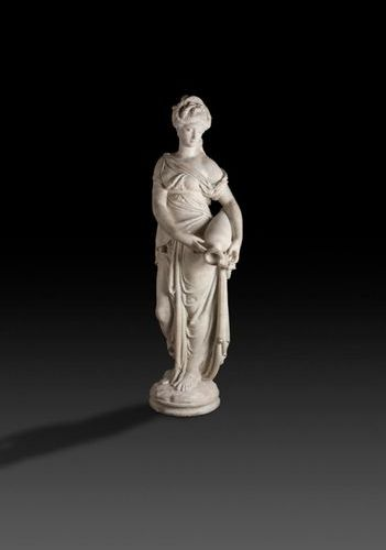 Albert Ernest Carrier Belleuse (1824 1887) The Source White marble sculpture. Si…