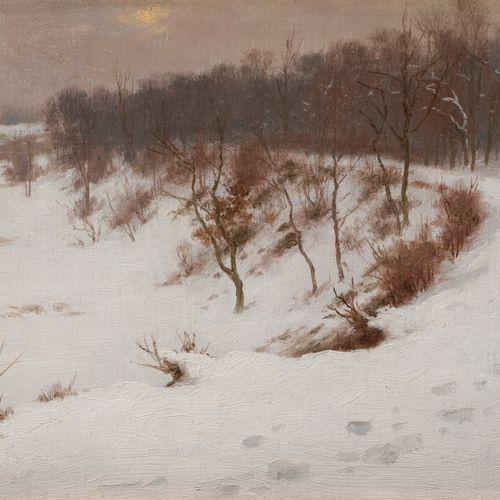Georges Frédéric RÖTIG (1873 1961) Traces on the Snowy Path, 1907 Oil on canvas.…