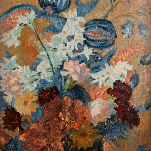 René PIOT (1869 1934) Bouquet of flowers Oil on panel. Signed lower right. 45 x …