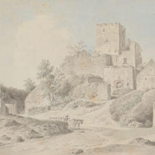 Alexis Nicolas PÉRIGNON (Nancy 1726 Paris 1782) Presumed view of the ruins of th…