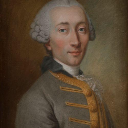 Charles Alexis HUIN (Nancy, 1732 Paris, 1786) Presumed portrait of Maurice de Pi…