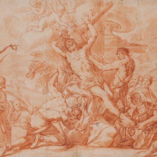 Italian school of the 18th centuryMartyrdom of a saint after a MasterSanguine an…