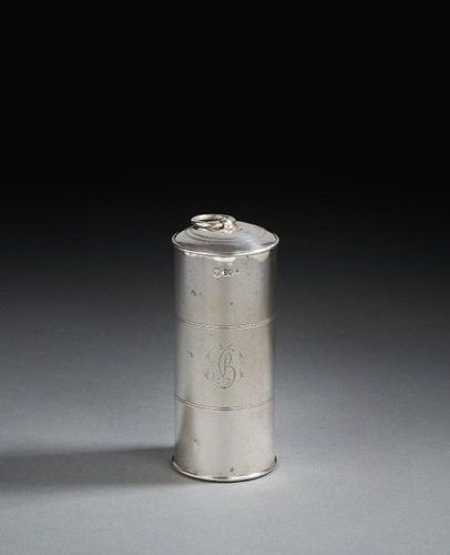 PARIS 1807 1809 A nutmeg grater and its case in silver silversmith: Aimée Cather…
