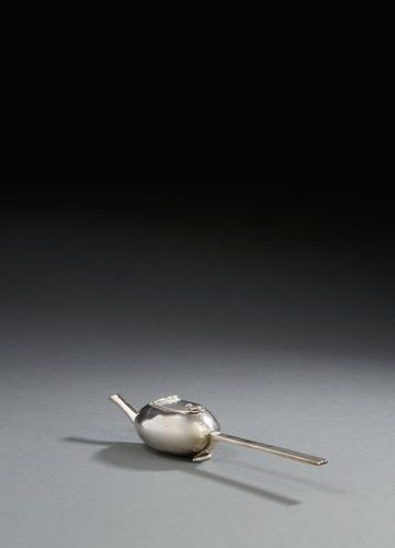 ANGERS 1693 An invalid feeding bottle in silver Master silversmith: attributed t…