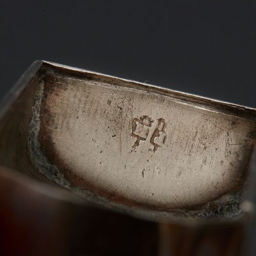 ANGERS BEFORE 1765 A portable reliquary in silver Master silversmith: Pierre HUG…