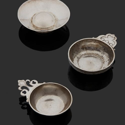 THOUARS 1754 A wine cup in silver Master silversmith: Jacques BERGEREAU