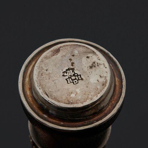 PARIS 1726 1732 A writing necessaire Master silversmith: RHD
