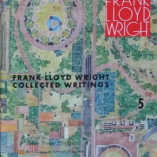[ARCHITECTURE LLOYD WRIGHT, FRANK] 4 ouvrages sur Frank Lloyd Wright. *Frank Llo…