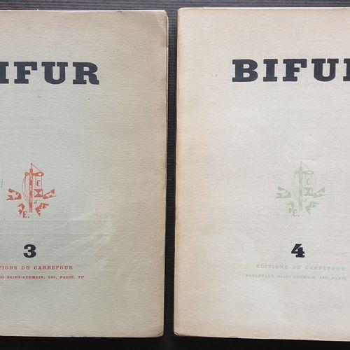 [ART BIFUR] 2 ouvrages. *BIFUR n°3 Éditions du Carrefour, 1929. 192 pp. Textes d…