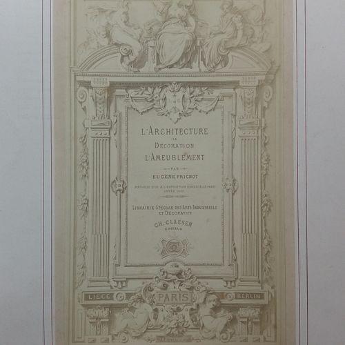[ARCHITECTURE, DÉCORATION & AMEUBLEMENT] 1 ouvrage ancien. *L'Architecture, la D…