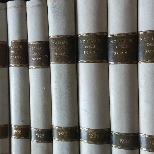 [ARCHÉOLOGIE ITALIE] 88 ouvrages. *Atti della Accademia Nazionale dei Lincei. No…