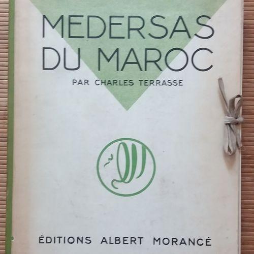 [ARCHITECTURE MAROC] 1 ouvrage. *Médersas du Maroc. Par Charles Terrasse. Éditio…
