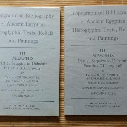 [ARCHÉOLOGIE ÉGYPTOLOGIE] 17 ouvrages en anglais. *The Old Kingdom Tombs of El H…