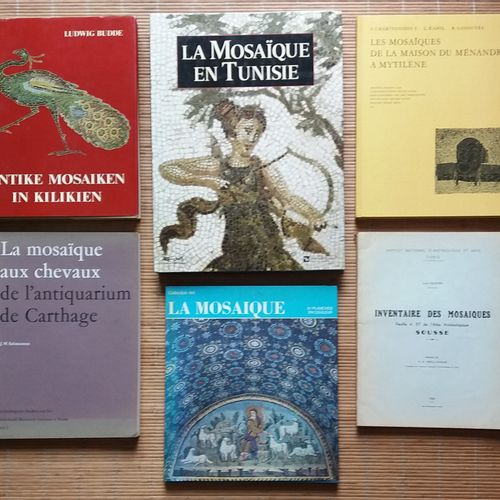 [ARCHÉOLOGIE MOSAÏQUES] Ensemble de 7 ouvrages. *Inventaire des Mosaïques. Souss…