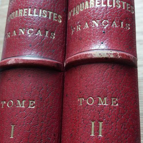 [AQUARELLES] 1 ouvrage en 2 tomes. *Société d'aquarellistes français. Ouvrage d'…