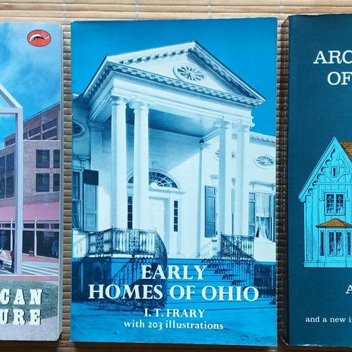 [ARCHITECTURE AMERIQUE DU NORD] Lot de 20 ouvrages en anglais sur l'architecture…